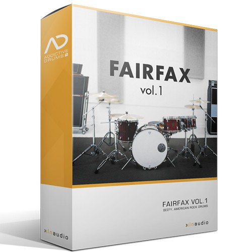 Addictive Drums 2 Fairfax Vol. 1
