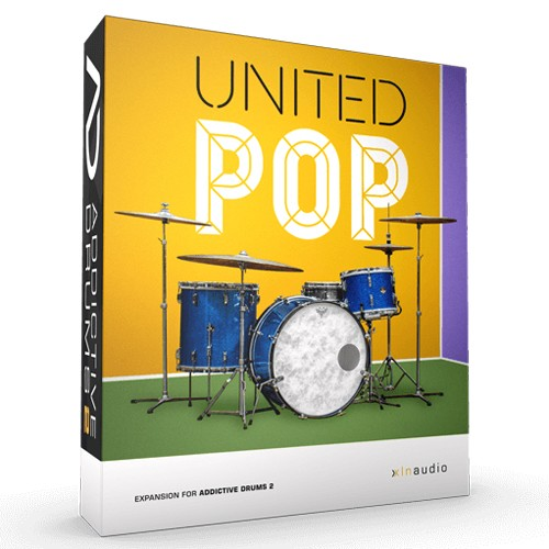 Addictive Drums 2 United Pop
