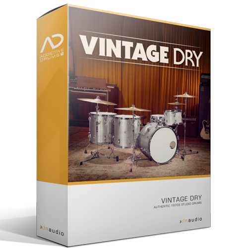 Addictive Drums 2 Vintage Dry
