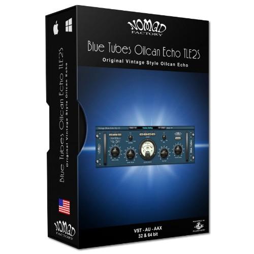 Blue Tubes Oilcan Echo TLE2S