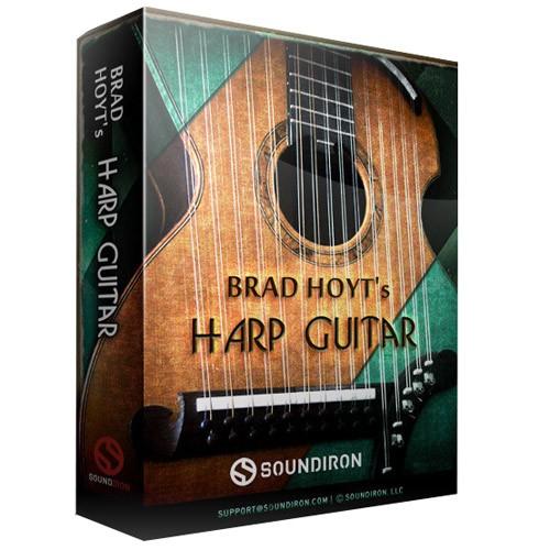 Brad Hoyt´s Harp Guitar