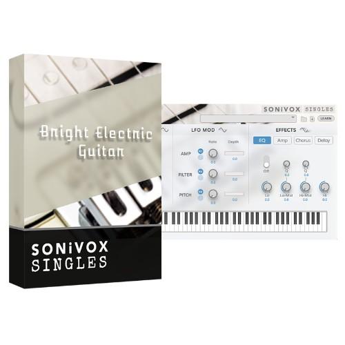 Bright Electric Guitar