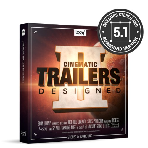 Cinematic Trailers - Designed 2 Stereo + Surround