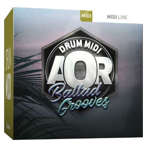 Drum MIDI AOR Ballad Grooves