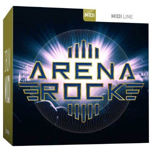 Drum MIDI Arena Rock