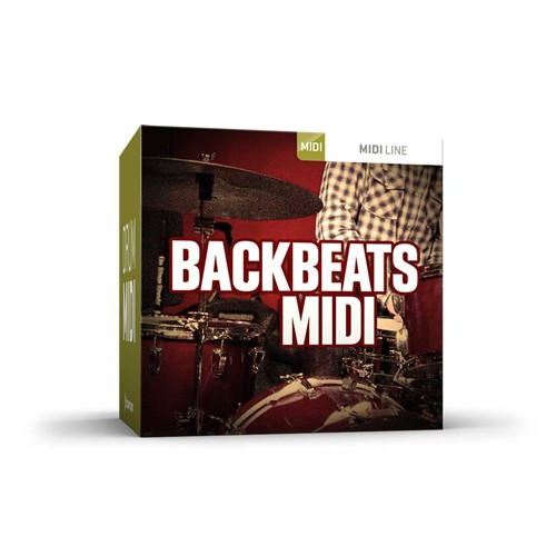 Drum Midi Backbeats