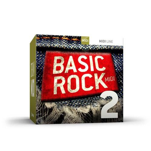Drum MIDI Basic Rock 2