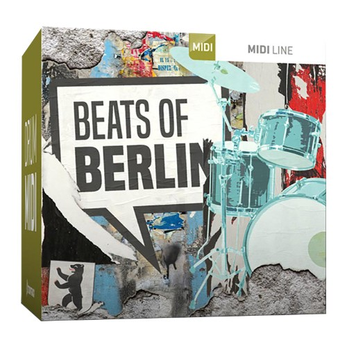 Drum Midi Beats of Berlin