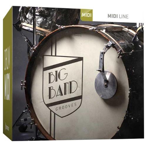 Drum MIDI Big Band Grooves