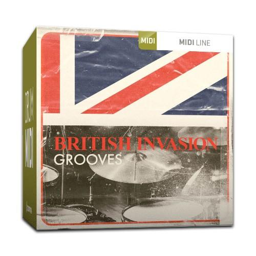 Drum MIDI British Invasion Grooves