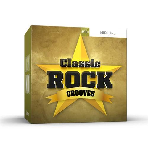 Drum MIDI Classic Rock Grooves