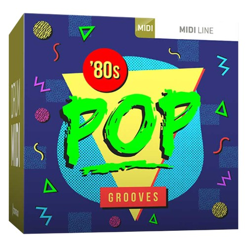 Drum MIDI Eighties Pop Grooves