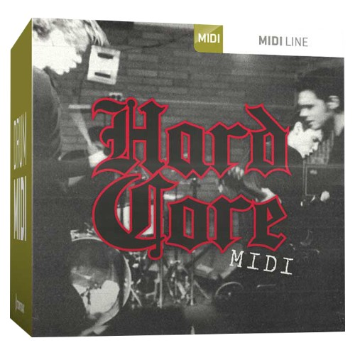 Drum MIDI Hardcore