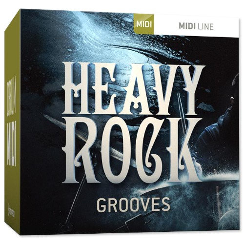 Drum MIDI Heavy Rock Grooves