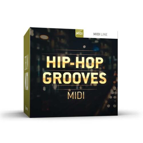 Drum MIDI Hip-Hop Grooves