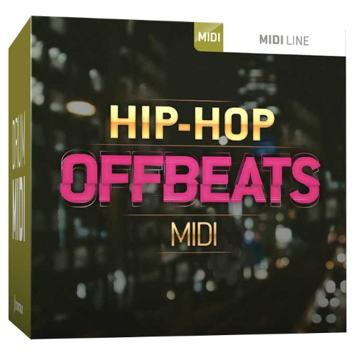 Drum MIDI Hip-Hop Offbeats