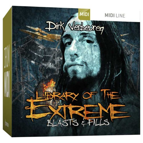 Drum MIDI Library of the Extreme - Blasts & Fills