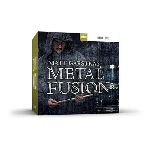 Drum MIDI Metal Fusion