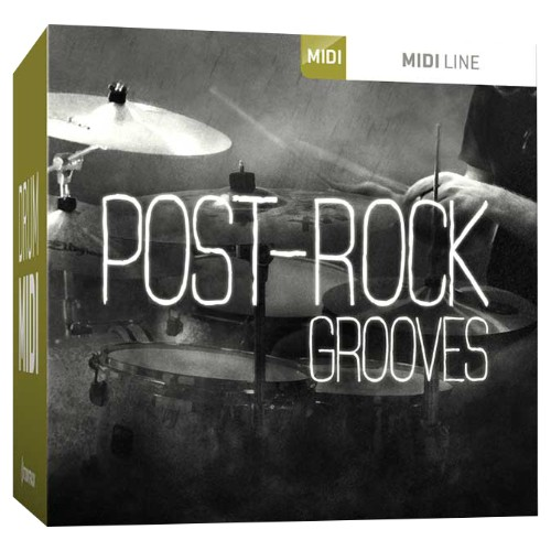 Drum MIDI Post-Rock Grooves