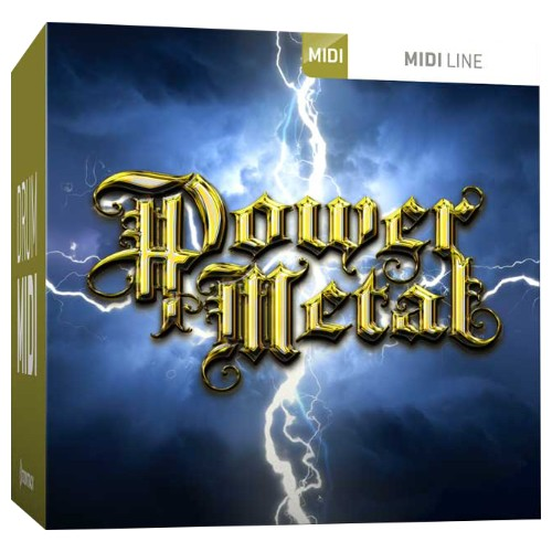 Drum MIDI Power Metal