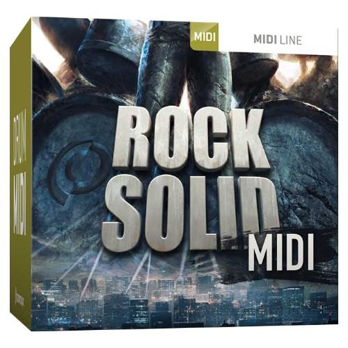 Drum MIDI Rock Solid