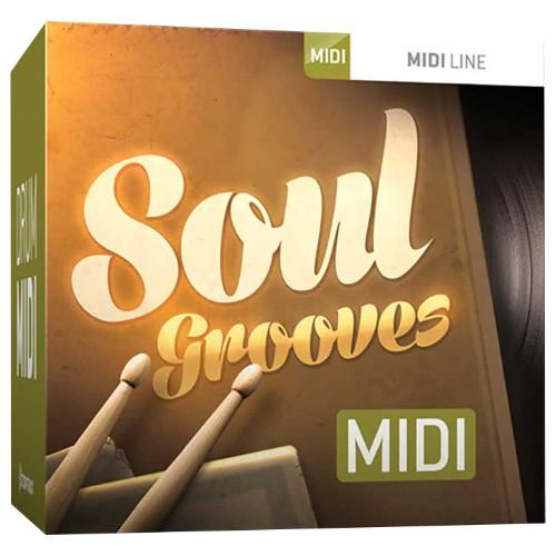 Drum MIDI Soul Grooves
