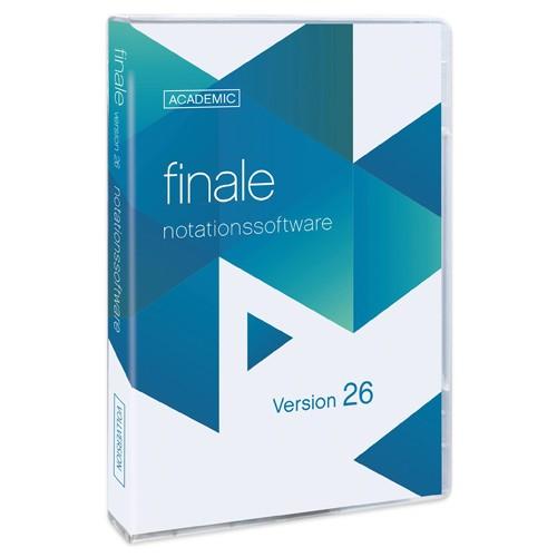 Finale 26 Academic Deutsch