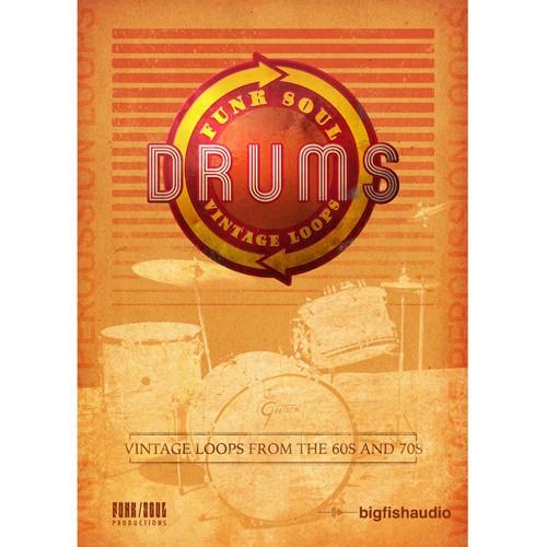 Funk Soul Vintage Drum Loops