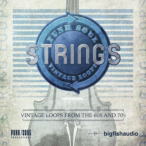 Funk Soul Vintage String Loops