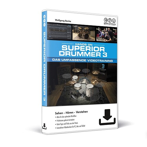 Hands On Superior Drummer 3