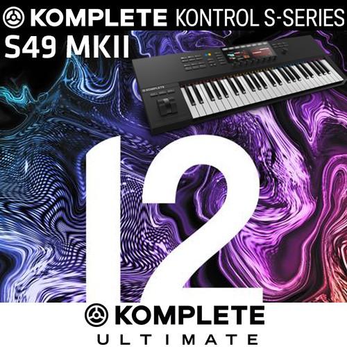 Komplete Bundle S49 MKII + Komplete 12 Ultimate