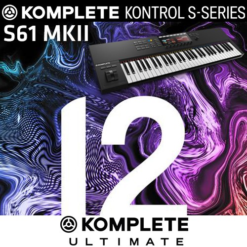 Komplete Bundle S61 MKII + Komplete 12 Ultimate