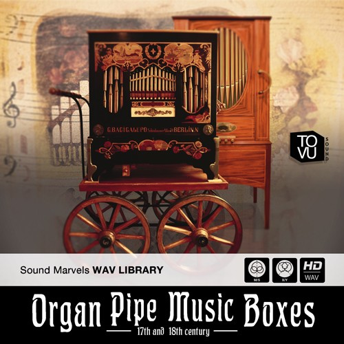 Organ Pipe Music Boxes