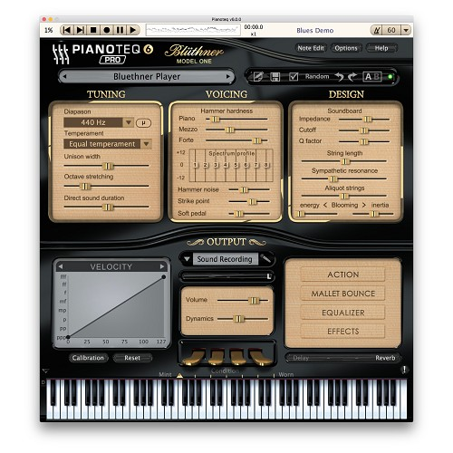 Pianoteq Blüthner Model One