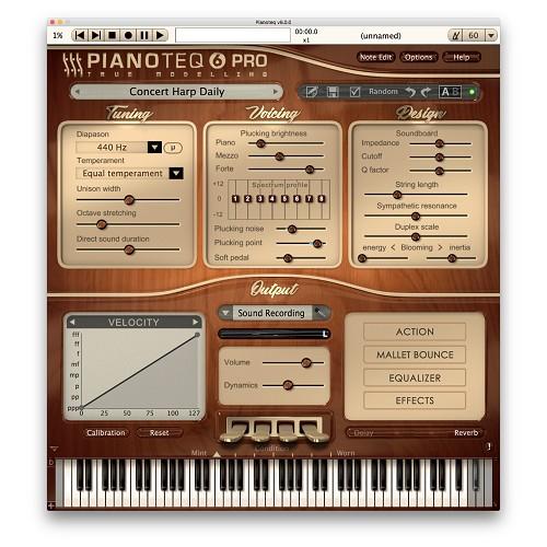 Pianoteq Concert Harp