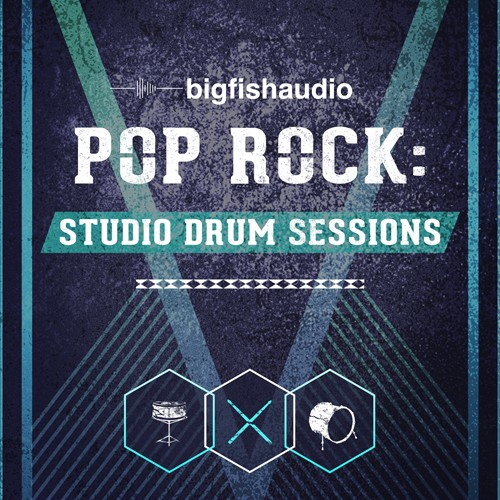 Pop Rock: Studio Drum Sessions
