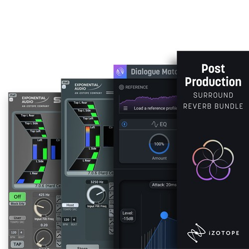 Post Production Surround Reverb Bundle