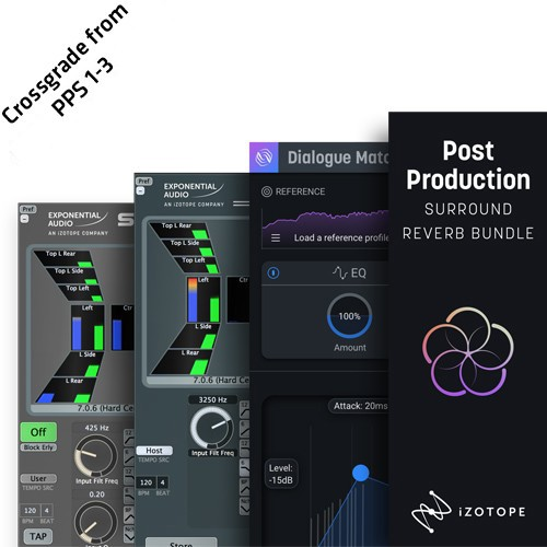 Post Production Surround Reverb Bundle CRG Two