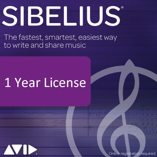 Sibelius 1 Year License