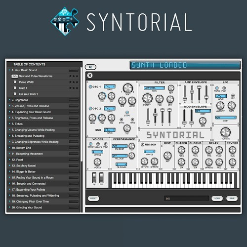 Syntorial - The Ultimate Synthesizer Tutorial