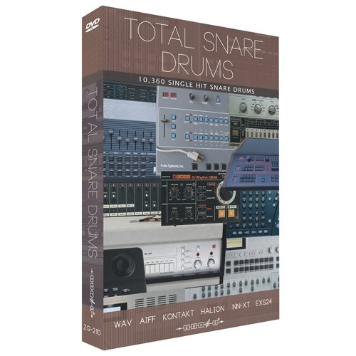 Total Snare Drums