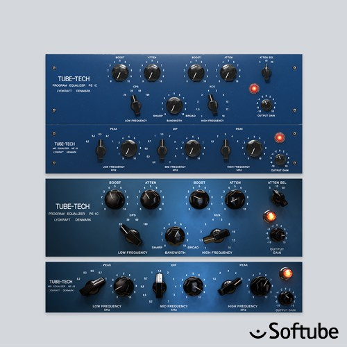 Tube-Tech Equalizer Collection