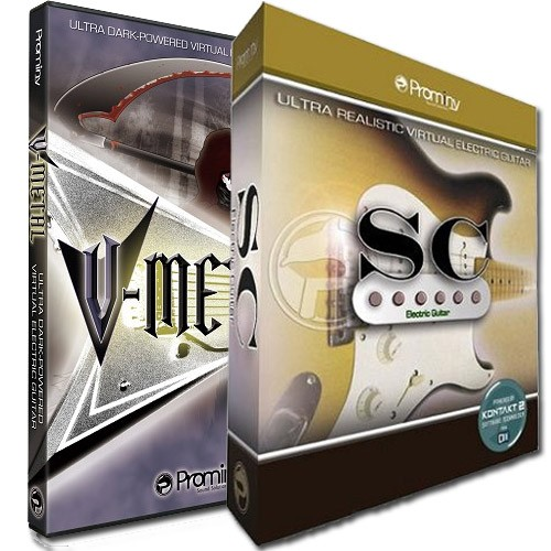 V-Metal and SC Electric Guitar Bundle