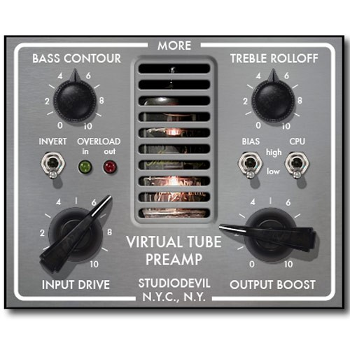 Virtual Tube Preamp