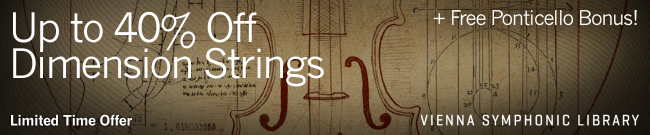 VSL - Up to 40% Off Dimension Strings