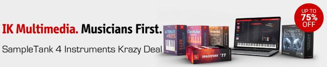IKM - SampleTank 4 Instruments Krazy Deal