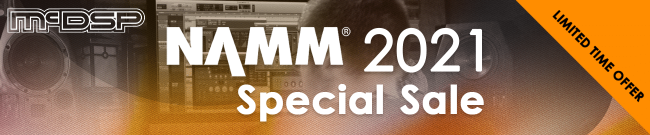McDSP - NAMM Special Sale - Up To 75% OFF