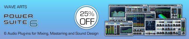 Wave Arts - Power Suite - 25% OFF