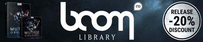 BOOM Library - Mutate Organic Launch Sale