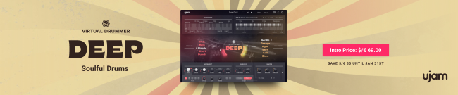 UJAM Virtual Drummer Deep - Intro Offer